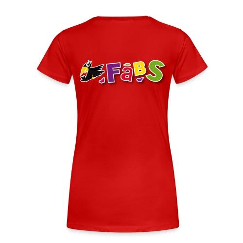 Fabsdamenshirt Übergrößen - Frauen Premium T-Shirt