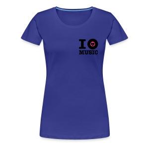 I Vinyl Music - Vrouwen Premium T-shirt