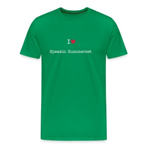 I love speakin zummerzet mens t-shirt - Men's Premium T-Shirt