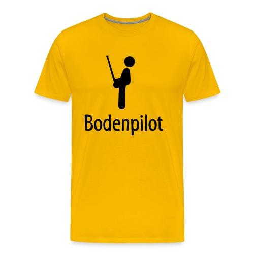 Bodenpilot - Männer Premium T-Shirt