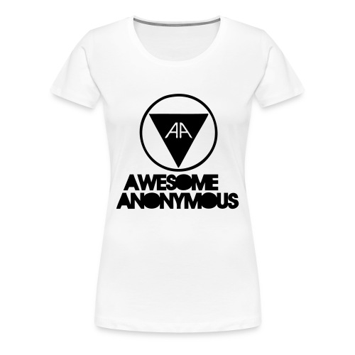 Awesome anonymous ladies - Premium-T-shirt dam