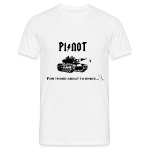 Pinot - for those about to binge - Männer T-Shirt