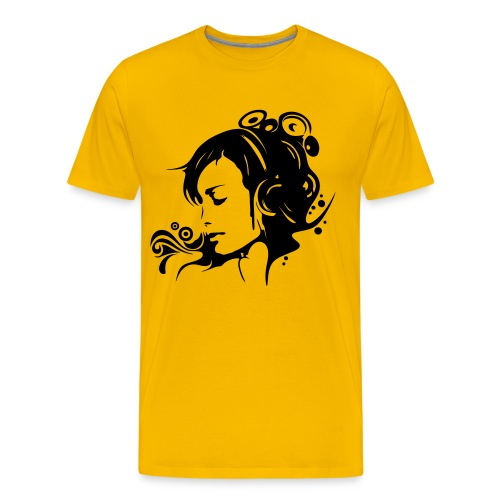 Girl - Koszulka męska Premium