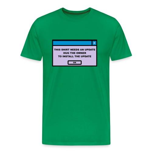 UPDATE - Camiseta premium hombre