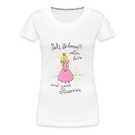 T-Shirts ~ Frauen Premium T-Shirt ~ Prinzessinnen Girlie Shirt
