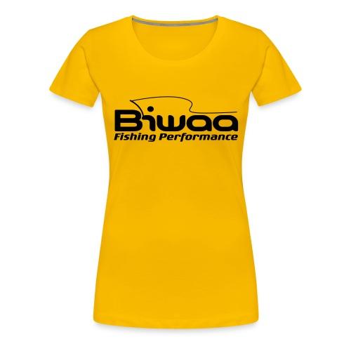 T-shirt Biwaa Femme logo Biwaa noir - T-shirt Premium Femme