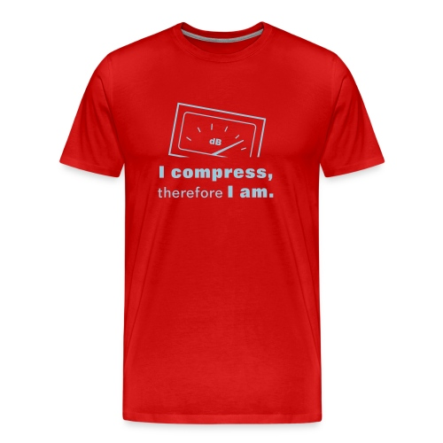 I compress, therefore I am  - Men's Premium T-Shirt