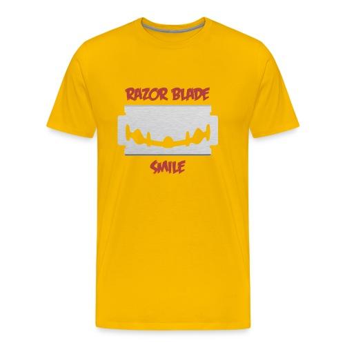 Razor Blade Smile - Men's Premium T-Shirt