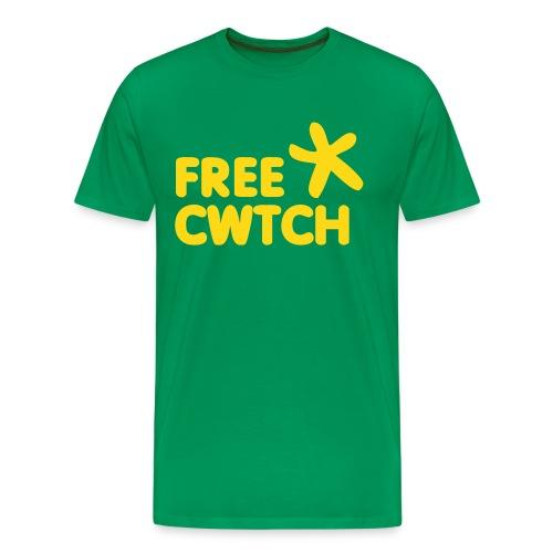 Free Cwtch mens..  - Men's Premium T-Shirt