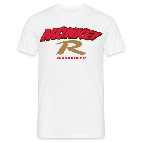 MonkeyR Addict dirt - T-shirt Homme