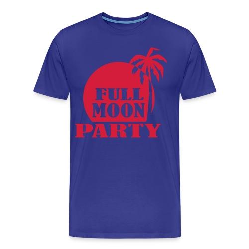 Full Moon Party - Männer Premium T-Shirt