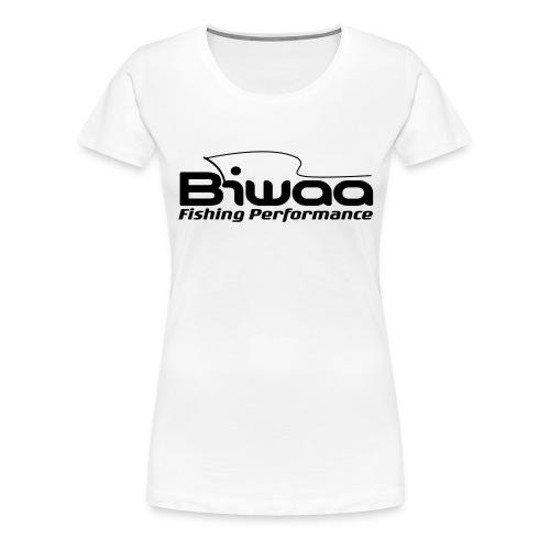 T-shirt Biwaa Femme logo noir - T-shirt Premium Femme