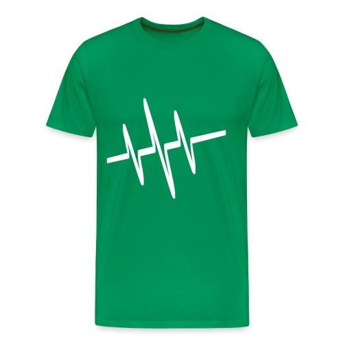 T-Shirt ÜBERGRÖSSE (nur Logo) - Männer Premium T-Shirt