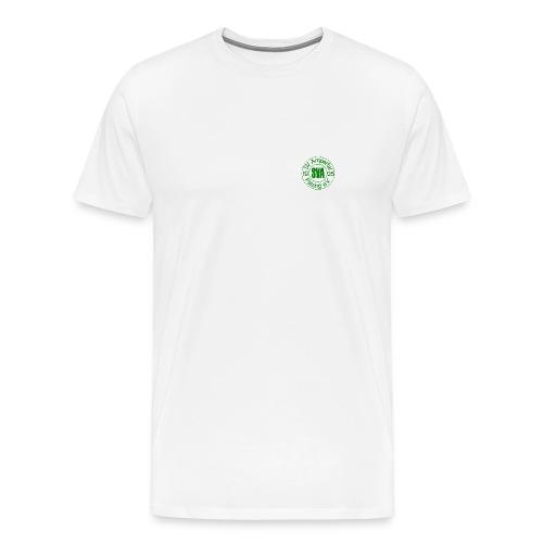 SVA Männer T-Schirt weiß, Übergröße - Männer Premium T-Shirt