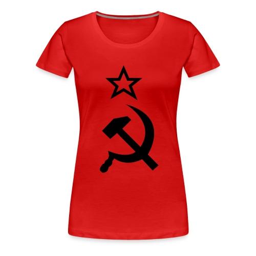 Simbolo Comunista - Camiseta premium mujer