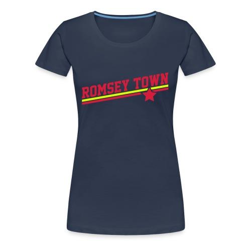 Romsey Town Retro Star - Women's Premium T-Shirt