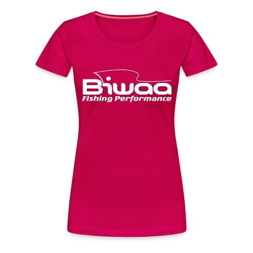 T-shirt Biwaa Femme logo Biwaa blanc - T-shirt Premium Femme
