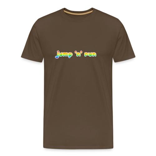 Jump 'n' Run - Männer Premium T-Shirt