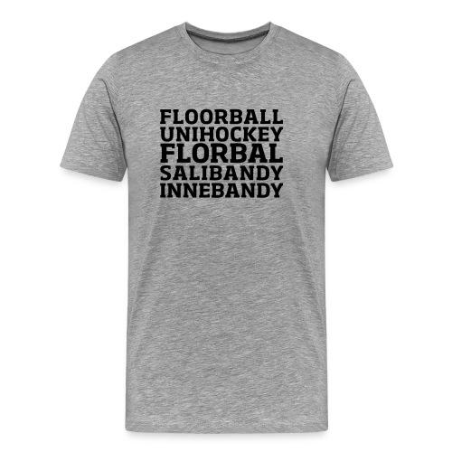 Words (h) - Premium-T-shirt herr