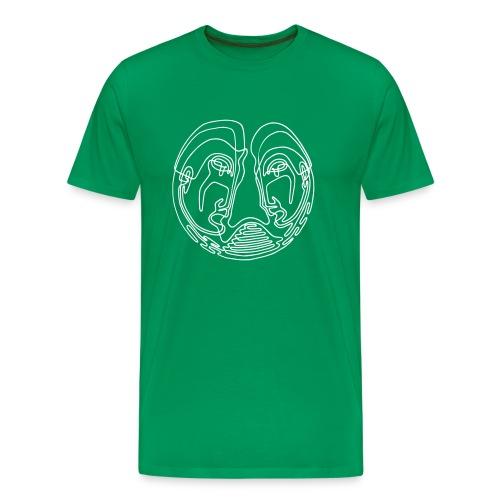 VARGO | Friendship (green) - Männer Premium T-Shirt