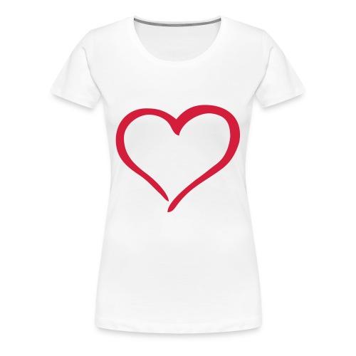 hearts - Women's Premium T-Shirt