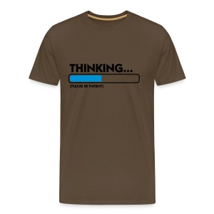 Thinking... - Men's Premium T-Shirt