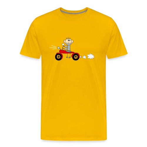 Bikerboy rot - Männer Premium T-Shirt