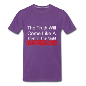 like a thief in the night - Men's Premium T-Shirt