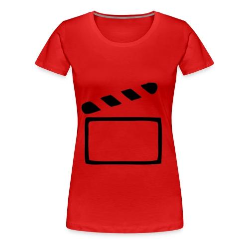 Film ab - Frauen Premium T-Shirt