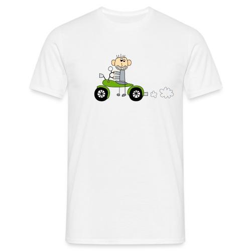 Bikerboy grün - Männer T-Shirt