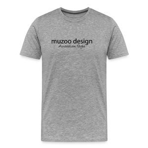 muzoo design Australian style - Men's Premium T-Shirt