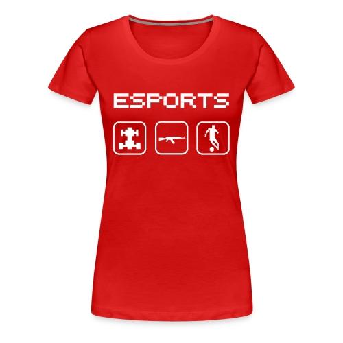 ESPORTS - Frauen Premium T-Shirt