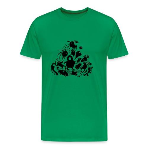 Hüpftiere - Männershirt klassisch - Männer Premium T-Shirt