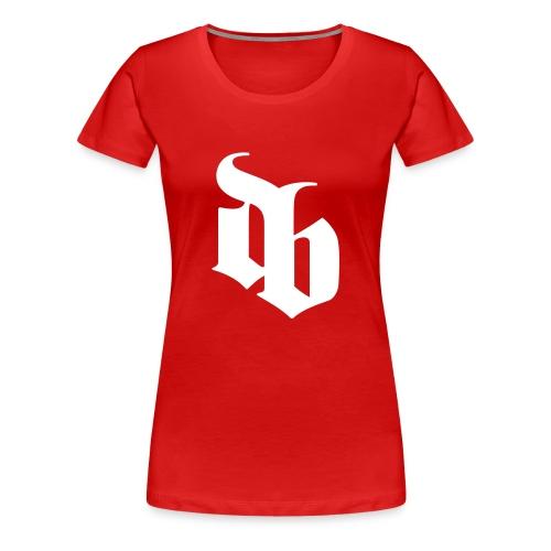 DAS BURO pige tshirt - Dame premium T-shirt