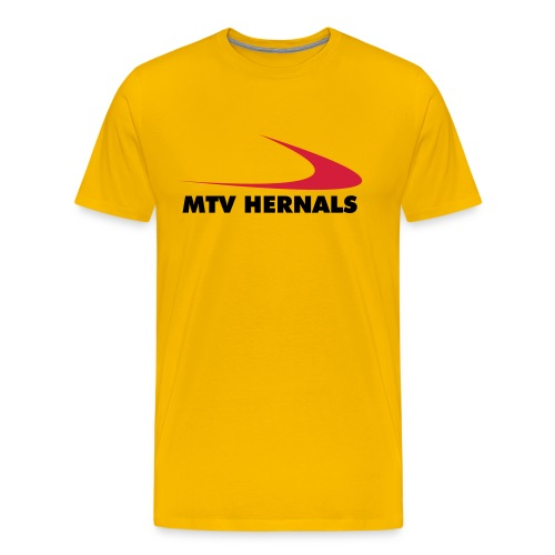 Männer-Shirt gelb - Männer Premium T-Shirt