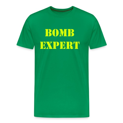 BOMB expert running, 2-sided - Men's Premium T-Shirt