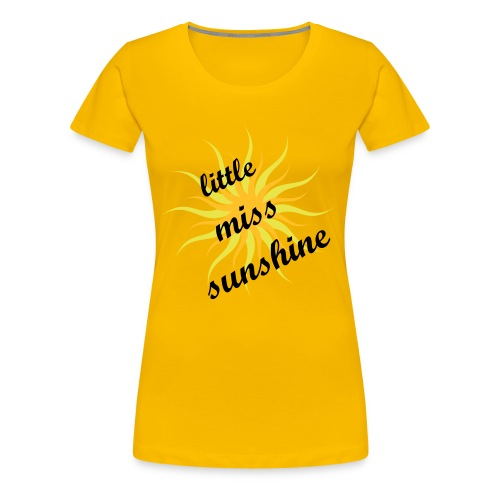 girlie- sunshine - Frauen Premium T-Shirt