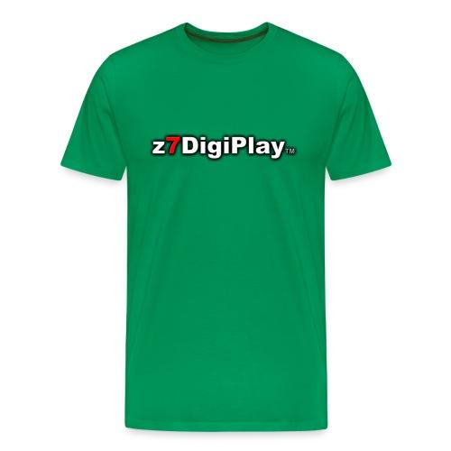 Z7DigiPlay Logo - Men's Premium T-Shirt