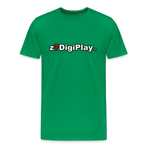 Z7DigiPlay Logo - Men's Premium T-Shirt