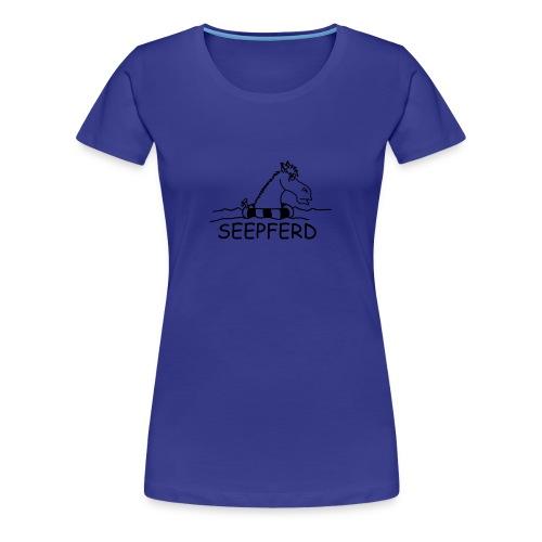 Damen T-Shirt Seepferd - Frauen Premium T-Shirt
