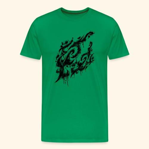 TribalSkin grunge - T-shirt Premium Homme