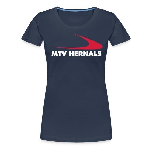 Frauen-Shirt navy-blau - Frauen Premium T-Shirt