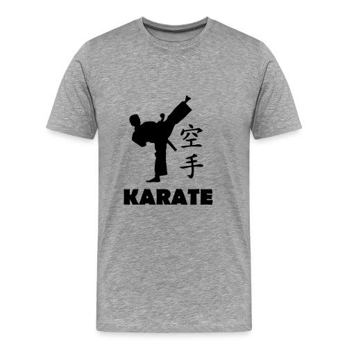 Karate - Miesten premium t-paita