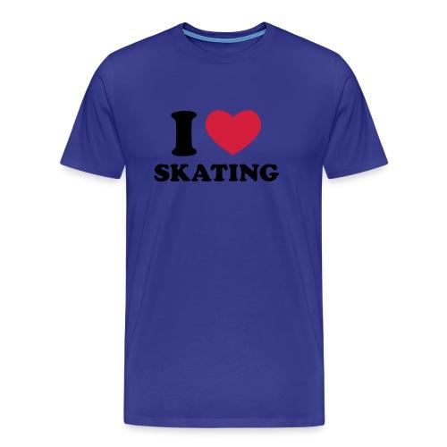 i love skating - T-shirt Premium Homme