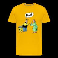 T-Shirts ~ Männer Premium T-Shirt ~ Die Post ist da!