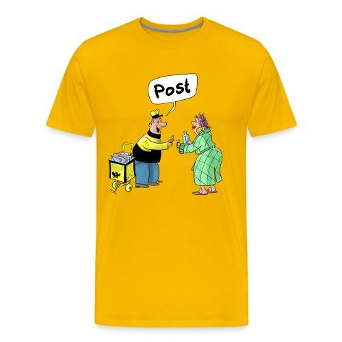 Die Post ist da! - Männer Premium T-Shirt