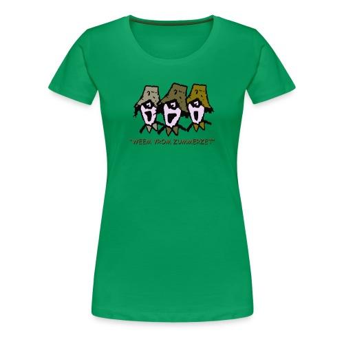 weem vrom zummerzet plus size t-shirt - Women's Premium T-Shirt