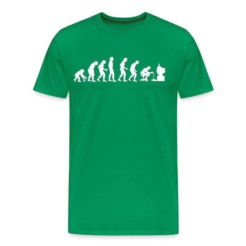 Gamers Evolution Green - Maglietta Premium da uomo