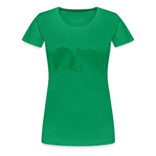 Reading is sexy Shirt - Frauen Premium T-Shirt