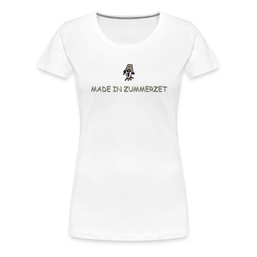 made in zummerzet plus size t-shirt - Women's Premium T-Shirt